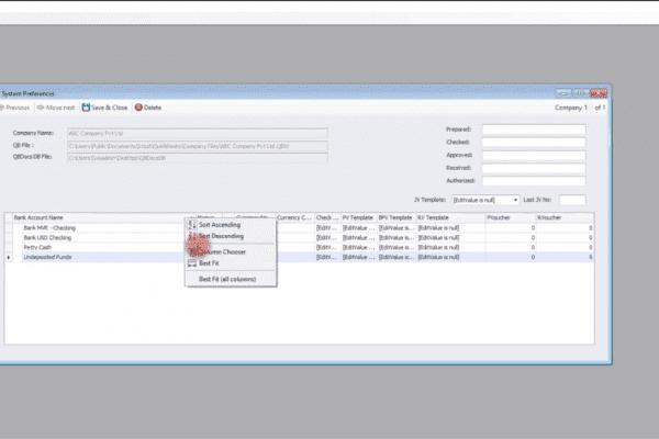 QBDocs Tutorial 3 of 6 | Setup & Configuration