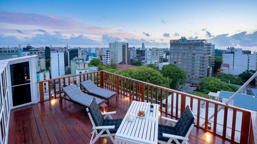 Sun Deck City View